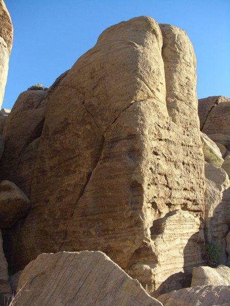 Rock Climbing Photo: Unknown crack, Zebra Cliffs.