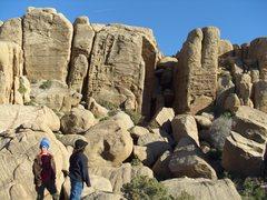 Rock Climbing Photo: Zebra Cliffs North Face
