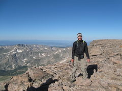 Rock Climbing Photo: on top of Longs Peak