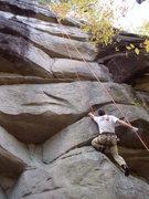 Rock Climbing Photo: Jay on Hysteria