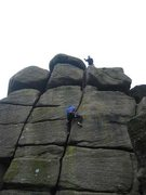 Rock Climbing Photo: Straightforward, enjoyable hand-jamming with good ...