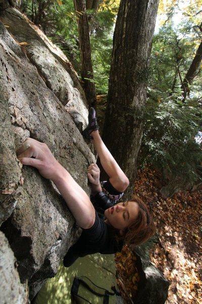 Rock Climbing Photo: lily loving Ms. Lovett