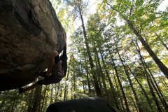 Rock Climbing Photo: lily on atlas... she sent