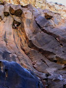 Rock Climbing Photo: Dan Schwarz, Gunks local, enjoying some interestin...