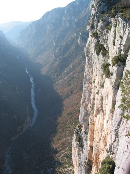 Rock Climbing Photo: Verdon Gorge