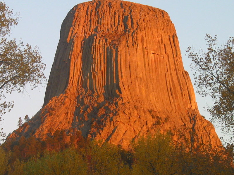 The one and Only Devils Tower