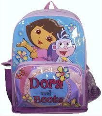 Dora technical pack. Great for those tough days at the local elementary.
