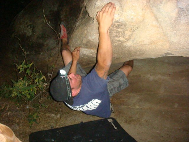 Rock Climbing Photo: south mt hookers are fun