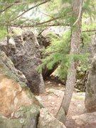 Rock Climbing Photo: Eagle point/Split rock bouldering area