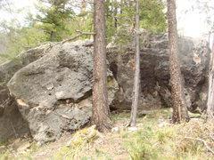 "Rock Climbing Photo: ""Split rock"""