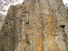 Rock Climbing Photo: Closer view,