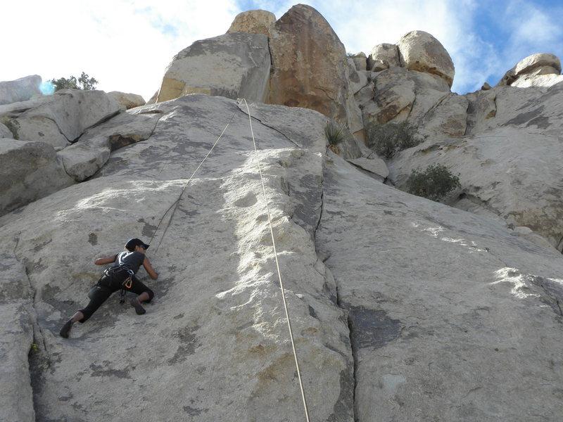 Rock Climbing Photo: L.E.