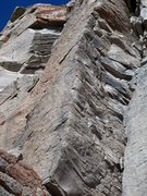 """Rock Climbing Photo: This is the arete above the anchors of """"Prima..."""