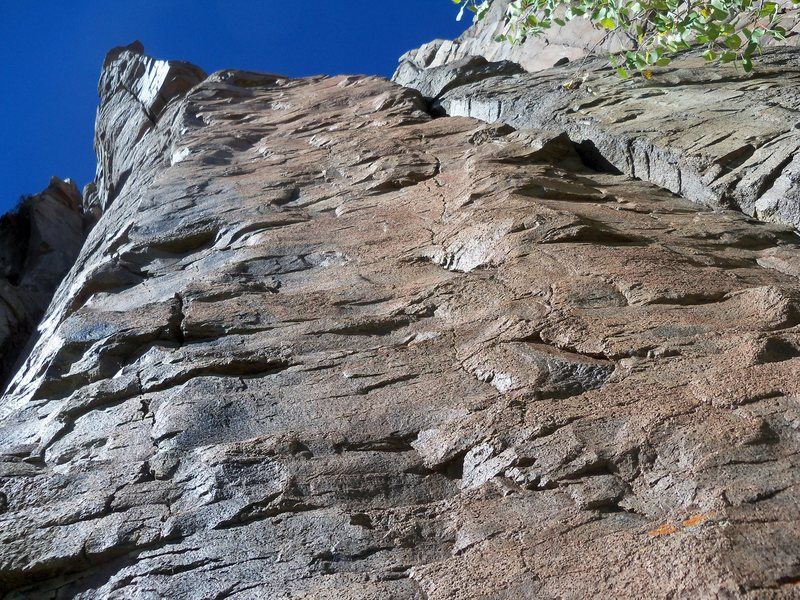 Rock Climbing Photo: New possible route