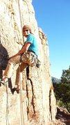 Rock Climbing Photo: Halloween at shelf last year. Last climb of the we...