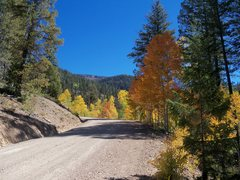 Rock Climbing Photo: Good roads are the norm though thunderstorms can c...