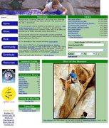 "Rock Climbing Photo: Screen shot of old ""climbingjtree.com"" h..."