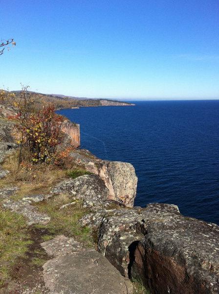 From Palisade, looking at Shovel Point