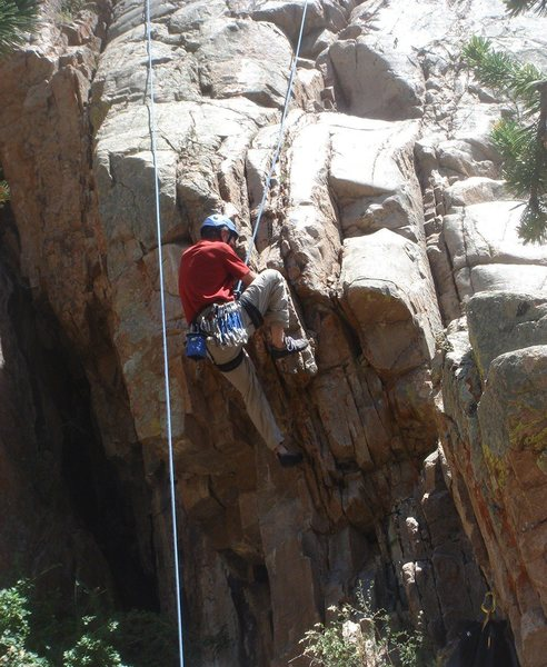 Rock Climbing Photo: Jerry Miller playing with a much harder start.