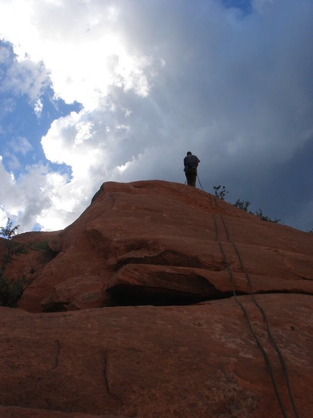 Rock Climbing Photo: Rappin' In the Way.