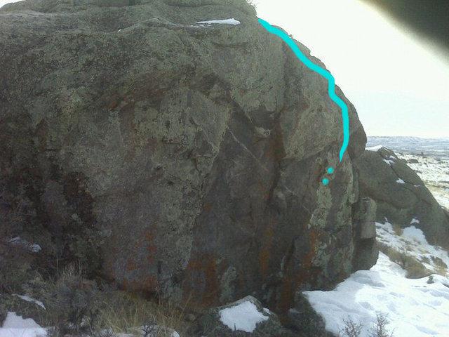 Rock Climbing Photo: Quicky