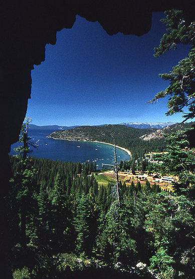 Rock Climbing Photo: Tahoe East Shore. Photo by Blitzo.