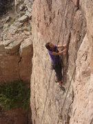 "Rock Climbing Photo: Myong says ""Damn Right I've Got the Moves!&qu..."