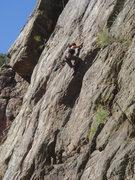 Rock Climbing Photo: Myong on Poker Face.