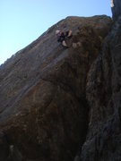 Rock Climbing Photo: Margherita on Ace in the Hole.