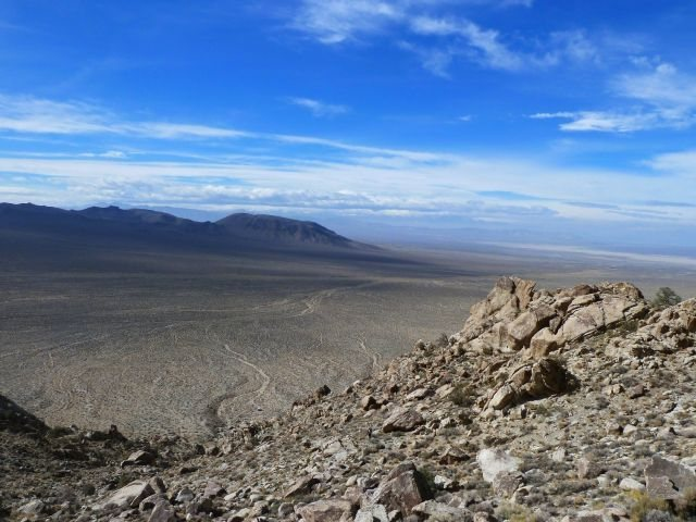 Rock Climbing Photo: The view from Lone Mountain, NV