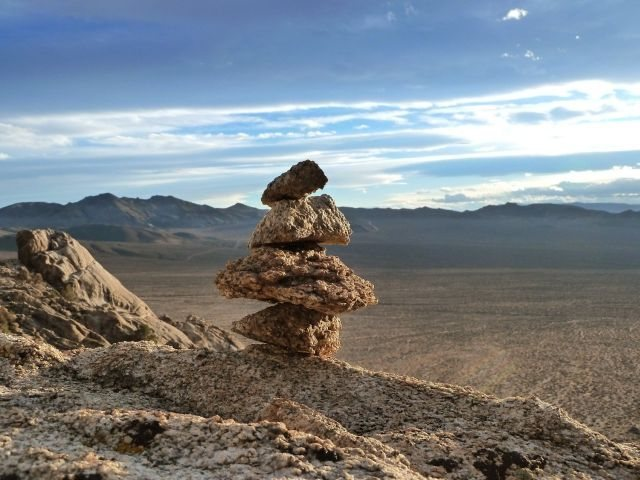 Rock Climbing Photo: This way to adventure, NV