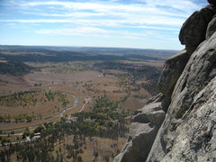 Rock Climbing Photo: The view from TAD