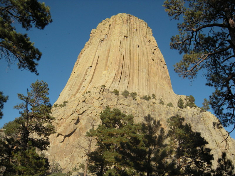 Devils Tower from the path
