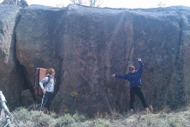 Rock Climbing Photo: Backbone Boulder