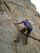 Rock Climbing Photo: Left hand in the nice, small sidepull.