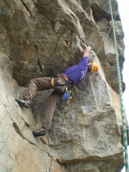 Rock Climbing Photo: The fun begins.