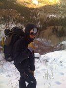 Rock Climbing Photo: Haha. Ohh Clay and his personality.