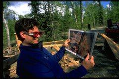 Rock Climbing Photo: Casey Shaw, Alaska 1998.  Mt Deborah Adventures in...