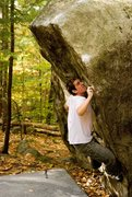 Rock Climbing Photo: Great route. Photo by Seth Hamel.