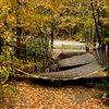 the old bridge, its still safe :)<br> <br> Photo by Seth Hamel.