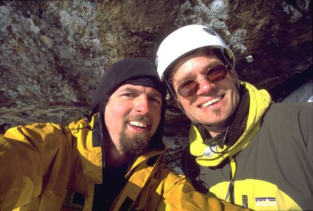 Rock Climbing Photo: The Bye's having just sampled another fine piece o...