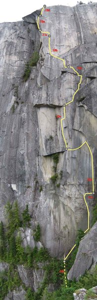 Rock Climbing Photo: photo topo