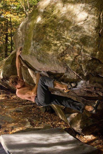Rock Climbing Photo: Seth getting his beta dialed!