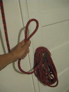 "Rock Climbing Photo: make 13 ""round"" coils (not butterfly).  ..."