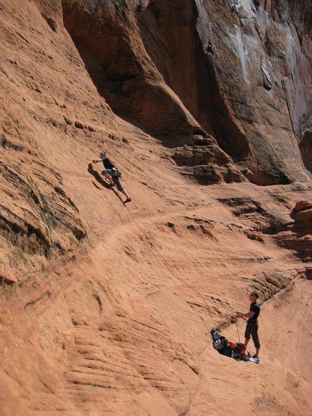 Rock Climbing Photo: Tooj, leading IA