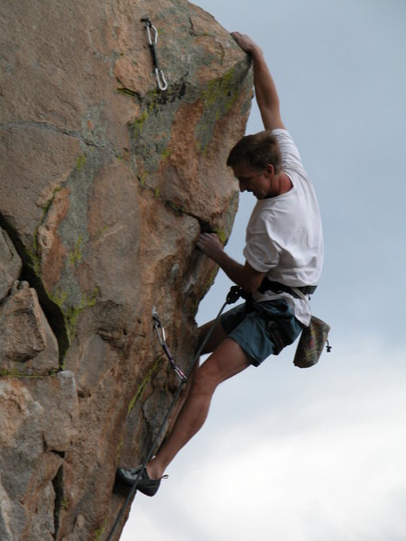 Rock Climbing Photo: Vaino Kodas on the prow.