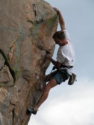 Rock Climbing Photo: Vaino Kodas on the prow.