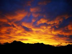 Rock Climbing Photo: Sunset over Red Rocks from the Second Pullout, Oct...