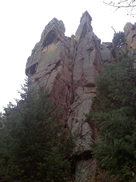 Rock Climbing Photo: Falcon Spire South.