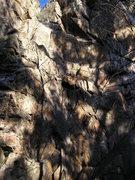 Rock Climbing Photo: Follow the rope ...